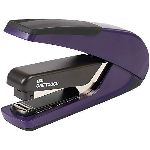 Staples 207436 One-Touch Plus Desktop Stapler Full-Strip Capacity Purple (25113)