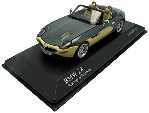 BMW Z8 CABRIOLET 2001 WITH ENGINE grau / CREAM L.E. 1008 PCS. [Spielzeug]