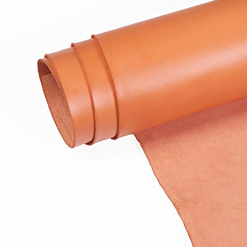 Firm Vegetable Tanned Full Grain Carving Tooling Leather 2.5mm and 3.0mm Thick Cowhide Handmade Stiff Leather Material
