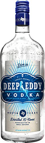 Deep Eddy Vodka 80 Proof, 1750 ml