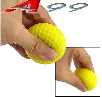 130pcs yellow Golf PU ball foam ball restricted flight balls practice golf training aids