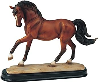 StealStreet SS-G-11433 Horses Collection Brown Horse Figurine