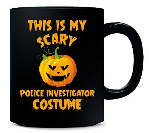 This Is My Scary Police Investigator Costume Halloween Gift - Mug -