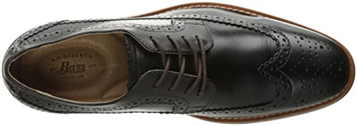 Gh Bass & Co. Mens Clinton Oxford Nero