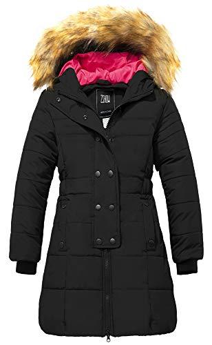 ZSHOW Winterjas voor Meisjes Parka Lange Warme Bufferjas