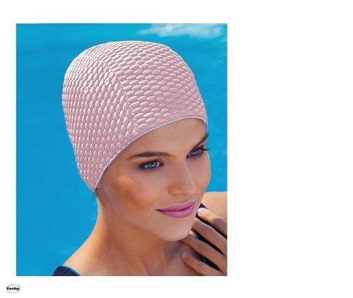 Fashy 3118 Badekappe aus Naturkautschuk für Damen in Lila (Pastellfarbe)