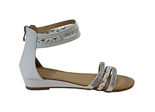 By Shoes -Sandalias para Mujer Blanco