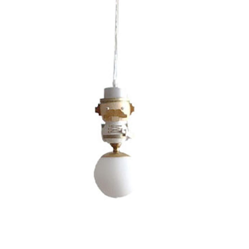 Nordic Kinder Zimmer Kronleuchter, Sicherheit hängend Licht Holzschnitzerei Art Soldat, Kreativer Einfacher Einem Einzigen Kopf hängend Lampe, Restaurant Schlafzimmer Lampe Beleuchtung