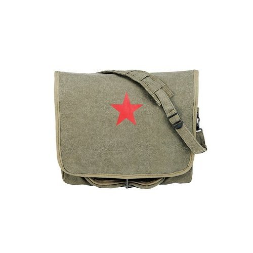 (Rothco Canvas Red China Star Shoulder Bag)