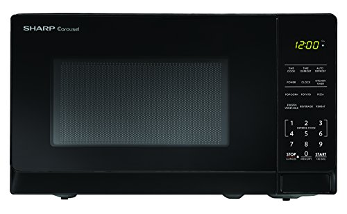 Sharp Microwaves ZSMC0710BB Sharp 700W Countertop Microwave Oven, 0.7 ...