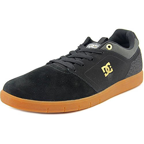 DC Mens Cole Pro Skate Shoe Grey/Black/Black