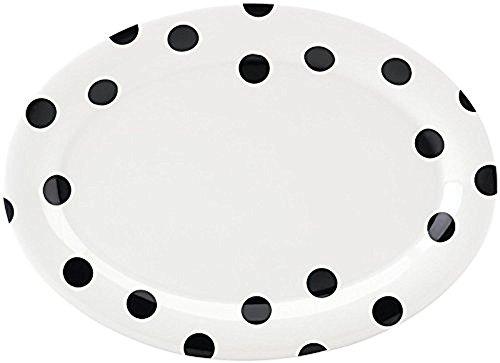 kate spade new york All in Good Taste Deco Dot Dinnerware Platter - White - 14