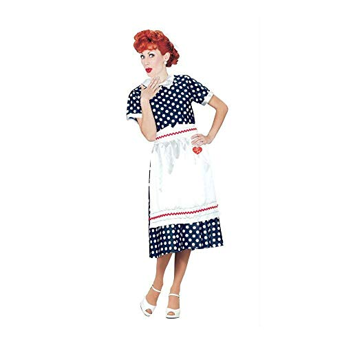 Costumes for All Occasions Xr40111Xl I Love Lucy Polka Dot Dress XL