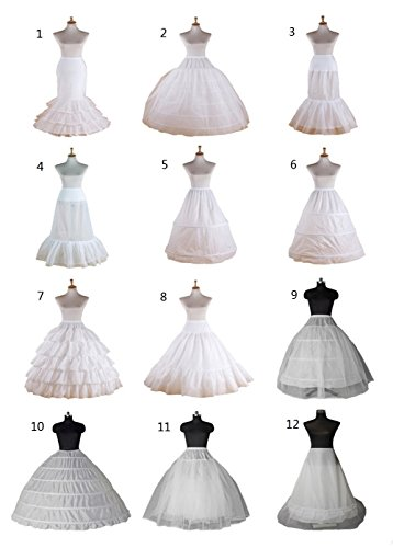 Hoop line Soft White QUZI Hoopless A DRESS Styles Underskirt 5 QZ048 Petticoat 12 white xXcRqUg0