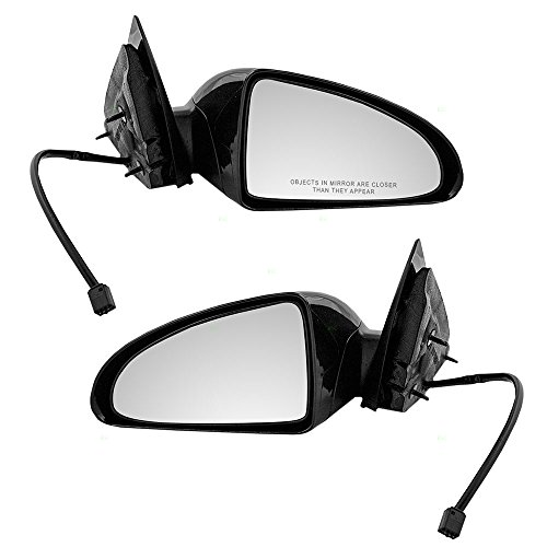 Power Side View Mirrors Smooth Replacement for Chevrolet 15921260 15921259 (Malibu Side View Mirror)