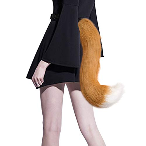 Faux Fur Fox Costume Tail Adult Teen