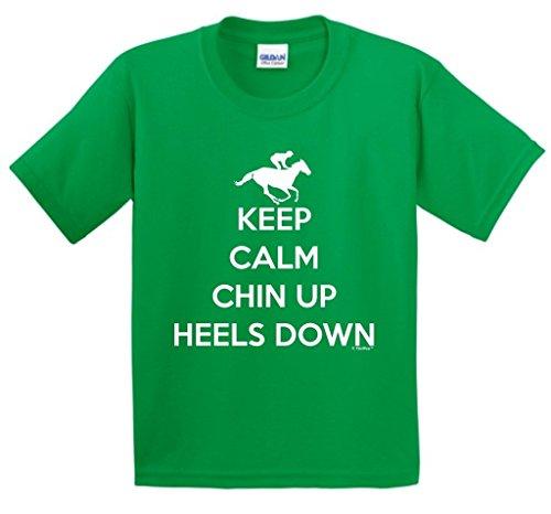 Horseback Riding Heels Youth T Shirt