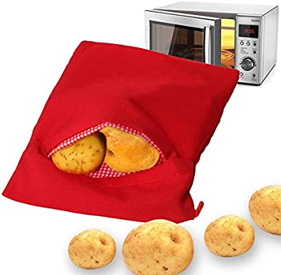 Chanhan Express paquete de patatas para microondas, reutilizable ...