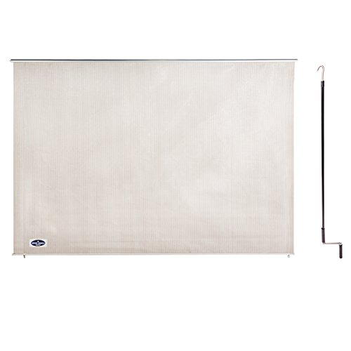 Cool Area 8' X 6' Exterior Cordless Roller Shade in Color Sesame