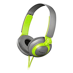 Sony MDR-XB200/G (MDRXB200-Green) XB Extra Bass Series On-Ear Headphones