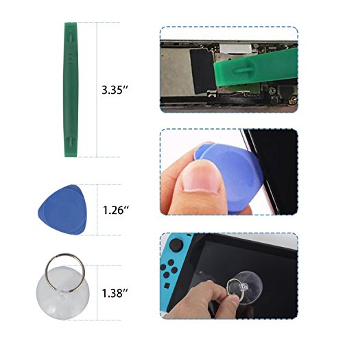 Nintendo Triwing Screwdriver, Keten Professional Nintendo Screwdriver Set with Full Triwing Screwdriver Repair Tool Kit for Nintendo Switch, New 3DS and Nintendo Wii /NES/SNES /DS Lite /GBA/Gamecube