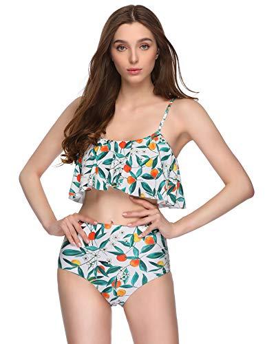 Floral Print Bikini Set in Australia - 6