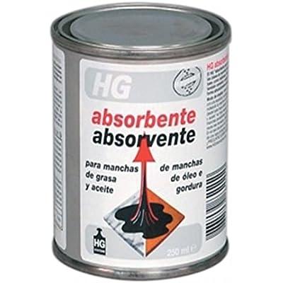 HG Absorbente de Manchas de Grasa y Aceite - 250 ml