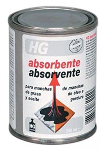 HG Absorbente de Manchas de Grasa y Aceite - 250 ml: Amazon.es: Salud y cuidado personal