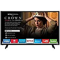 VIZIO D D43f-E1 43 1080p LED-LCD TV - 16:9 - HDTV - Black - 178° / 178° - 1920 x 1080 - Dolby Digital - 16 W RMS - Full Array LED Backlight - Smart TV - 3 x HDMI - (Certified Refurbished)