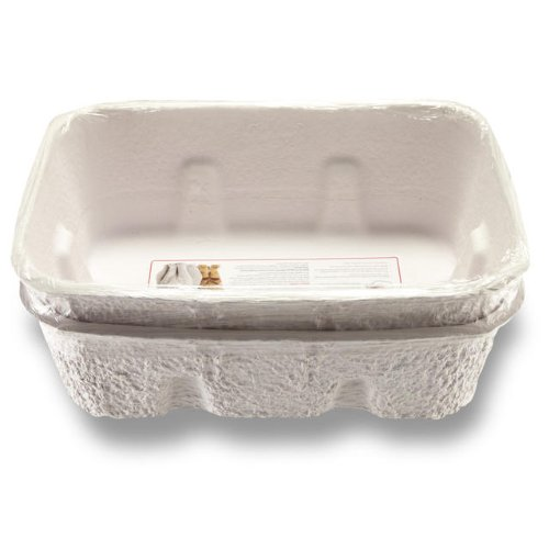 Large Product Image of Nature's Miracle Disposable Litter Box, Jumbo, 2-Pack
