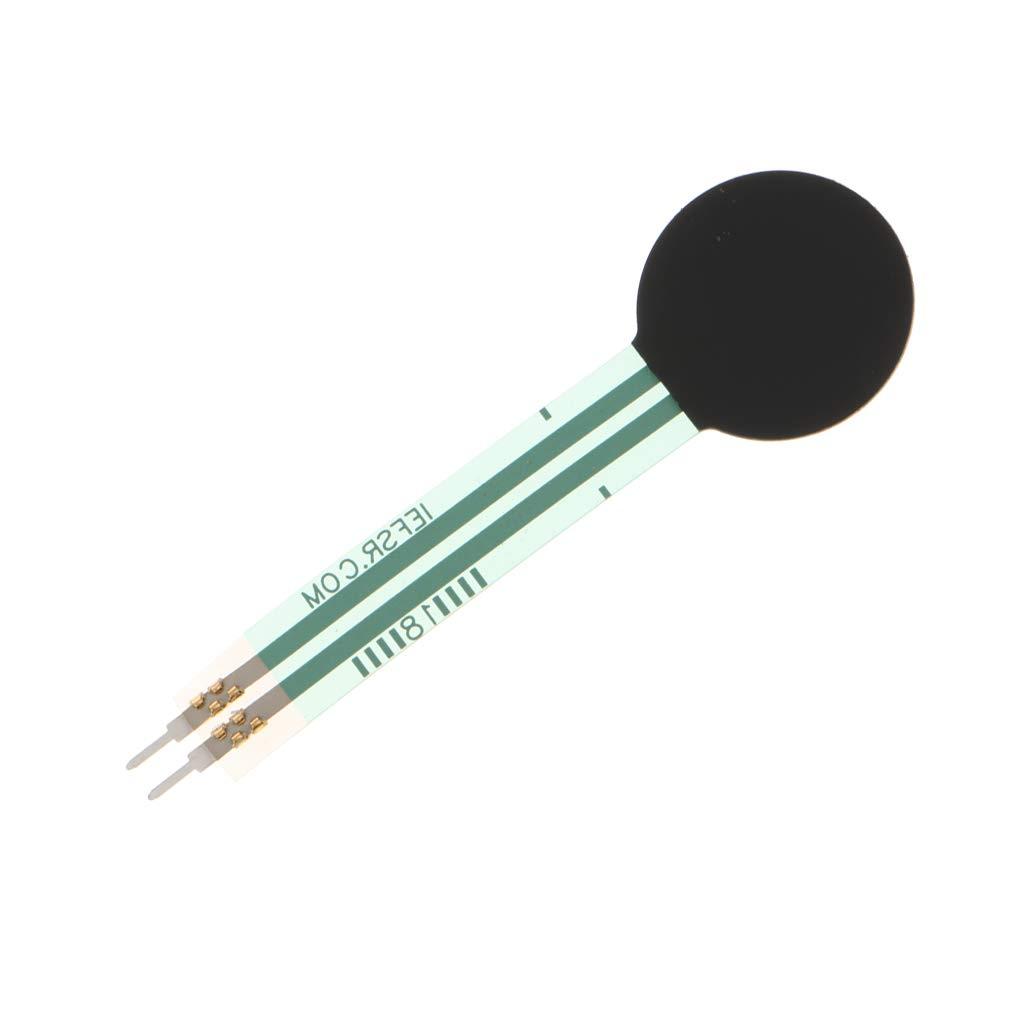 FLAMEER FSR402 Sensore Di Resistenza Sensibile Alla Sensibilit/à Area 0.5 Pollici Dia FSR Per Arduino Kit Fai Da Te Compatibile
