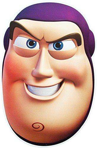 [Toy Story Buzz Lightyear - Card Face Mask] (Buzz Lightyear Halloween)