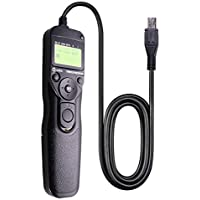 Foto&Tech LCD Timer Shutter Release Remote Control Cord For CANON EOS 6D Mark II/5D Mark IV III II/5DS/5DR/7D Mark II/1D X Mark II/1DS Mark II, III, Mark III/1DC/1DX/D60/7D