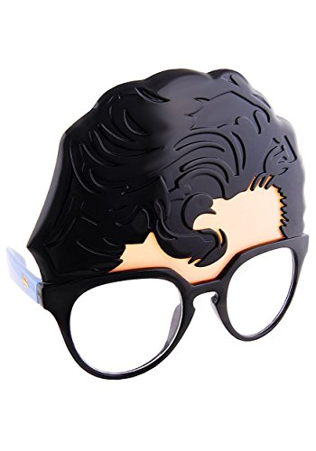 Sunstaches Superman Officially Licensed