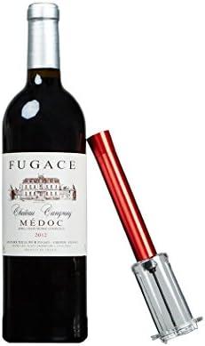 PHOEWON Abridor de corcho de vino profesional abrebotellas de vino fácil de abrir, sacacorchos rápido de presión de aire, abridor de botellas de corcho, accesorios de vino tinto
