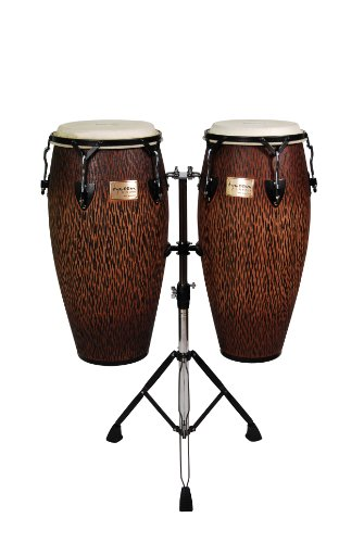 - Tycoon Percussion STCS-B CO/D 10-Inch Requinto and 11-Inch Quinto Conga Drum - Chiseled Orange