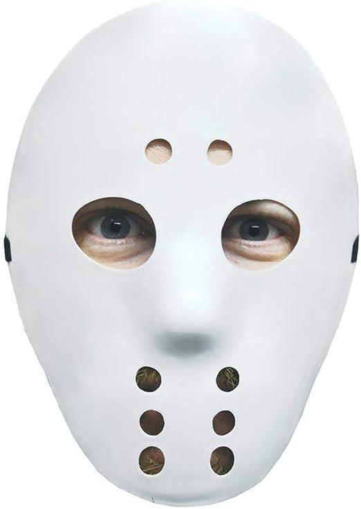 Amazon Com Forum Novelties Hockey Mask White Toys Games