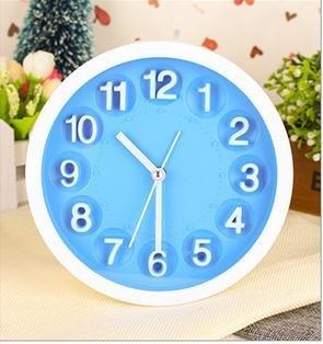 QFL Gente perezosa multicolor reloj estéreo digital en el reloj digital simple de moda dormitorio hogar muebles , blue: Amazon.es: Hogar