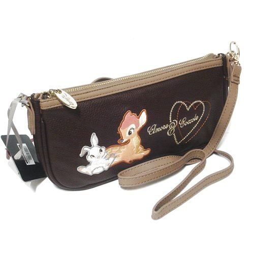 Bambi Disney Tracolla Baguette 133564 Marrone