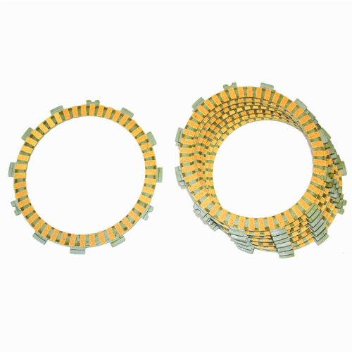 Atv Clutch Friction Plates - Caltric CLUTCH FRICTION PLATE Fits POLARIS PREDATOR 500 2003 2004 ATV PREDATOR 500 8-PLATES