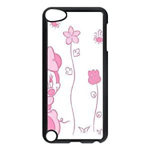 iPod Touch 5 Phone Case Black Disney Mickey Mouse Minnie Mouse WQ5RT7515784