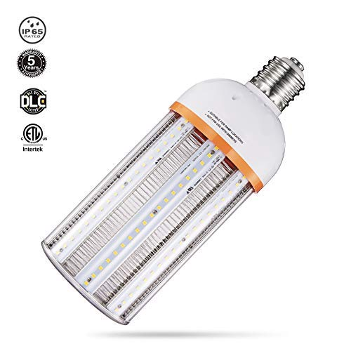 Hps Bulb Mogul Base - 58W 60W Led Corn Light Bulb,5000K Large Mogul Base E39 Led Bulbs, 7830 Lumens,Replacement for 250W Metal Halide/HID/CFL/HPS in Parking Lot Fixture,High Bay Lighting, Barn Lights,Flood Light,Wall Pack