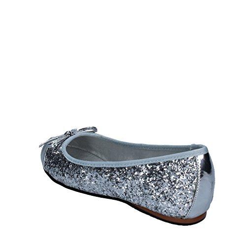 Flats Ballet Glitter US 9 MILANO 39 Silver FRANCESCO Womens EU gRCqSPpwO