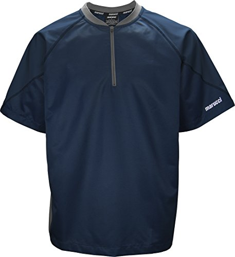 Team Short Sleeve Bp Top Navy Blue by Marucci