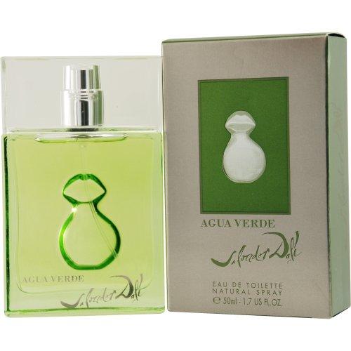 Salvador Dali Moisturizing Body Lotion (Salvador Dali Agua Verde Eau de Toilette Spray for Men, 1.7 Ounce)
