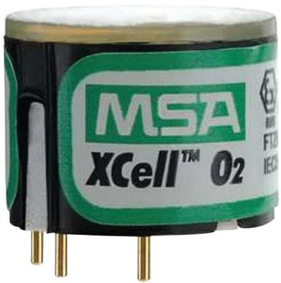 Msa Oxygen Sensor With Alarms   5  24  Vol For Use With Altair  4X 5X Multi Gas Detector