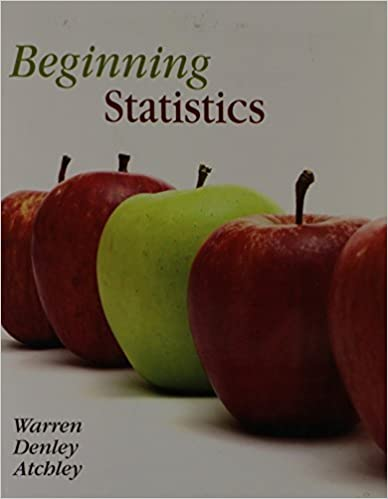 Book Beginning Statistics by Carolyn Warren (2008-11-09)