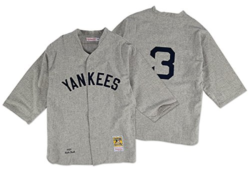 New York Yankees Authentic 1929 Babe Ruth Road Jersey By Mitchell & Ness 40