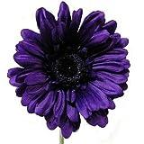 Kunstblumen 4 Stück Gerbera Lila Blumen