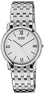 Citizen Analog White Dial Men's Watch - AR0015-68A